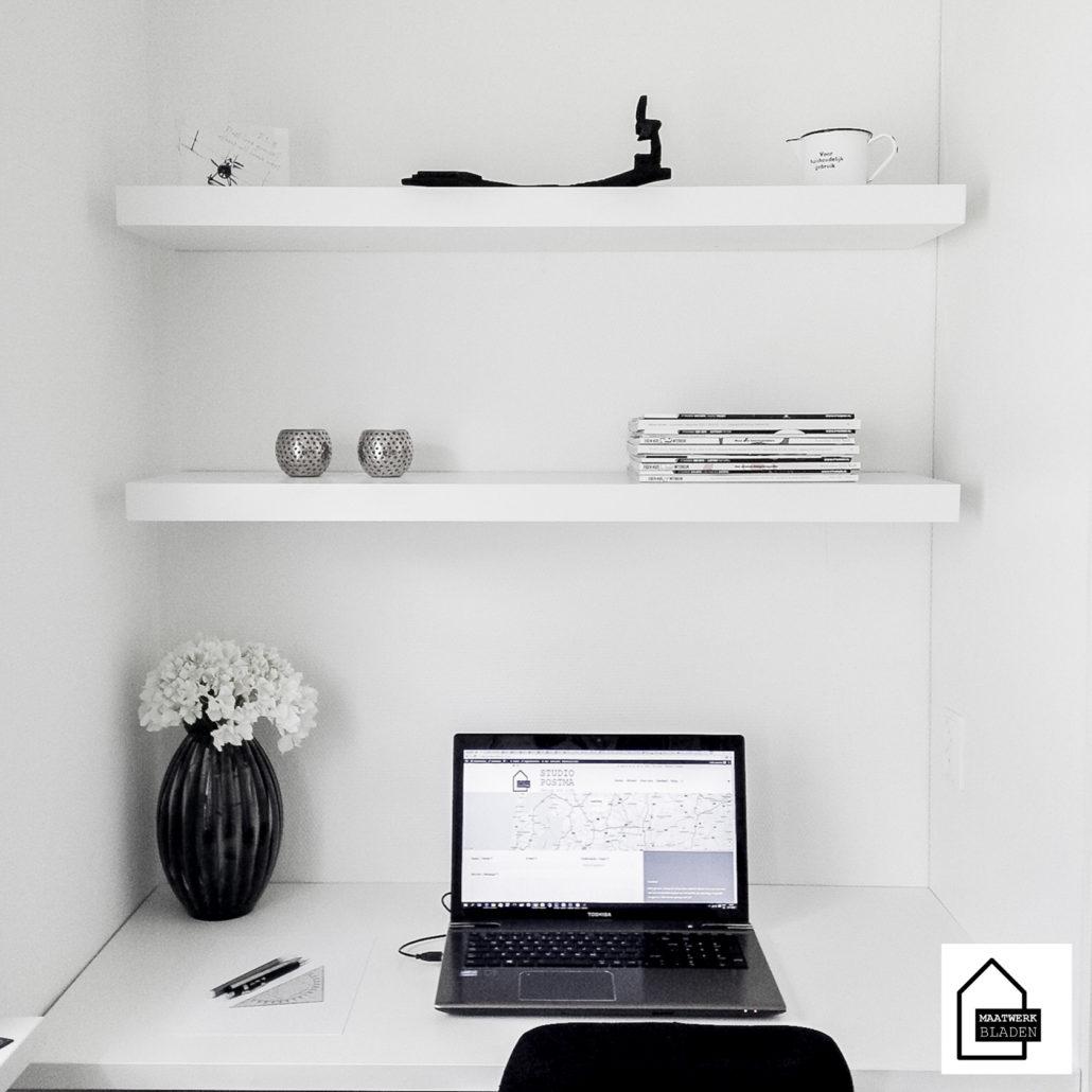 Bureaublad en werkblad